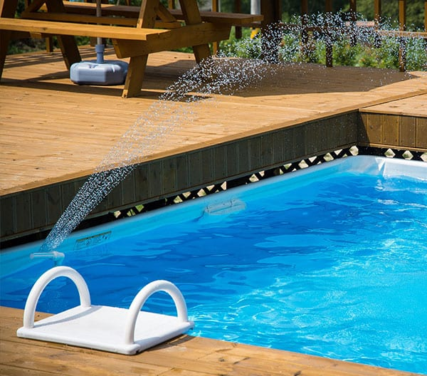 Above Ground Swimming Pool Deck Installation by Roofing-Pro